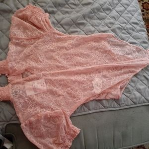 Forever 21 Lace body suit